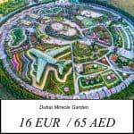 Dubai Miracle Garden vstupne