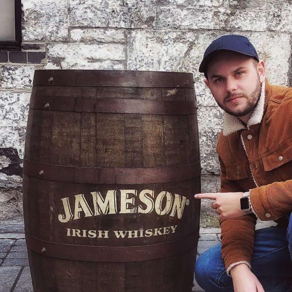 Dublin nasiaty históriou, tak silno, ako je aj chuť histórie v pravej Írskej whiskey