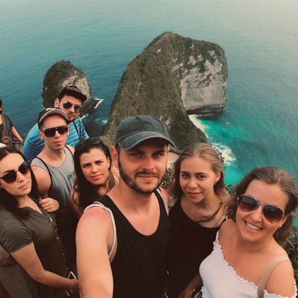 Na ostrove Nusa Penida