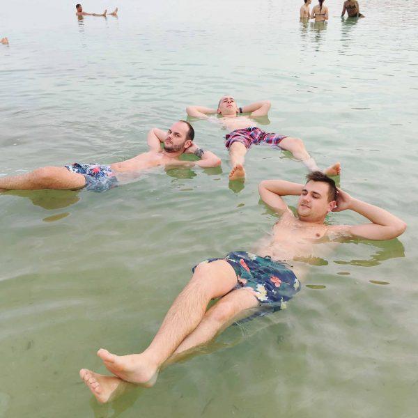 Kúpanie v Mŕtvom mori